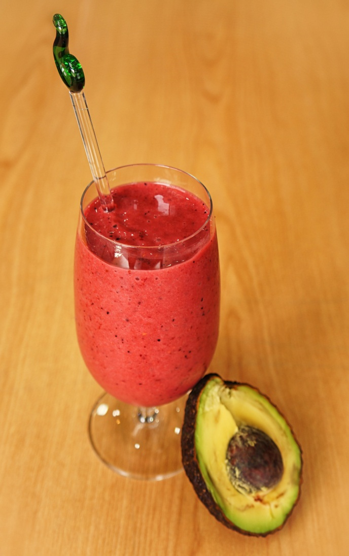 Berry Amp Avocado Smoothie